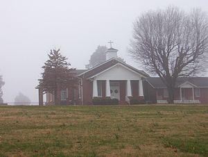 Trinity United Methodist Church (Nutbush, Tennessee) - Trinity United Methodist Church in Nutbush (2007)