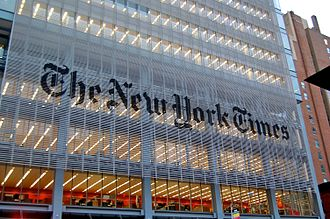 The New York Times - The New York Times headquarters 620 Eighth Avenue