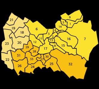 O'Higgins Region - Image: O'Higgins Comunas