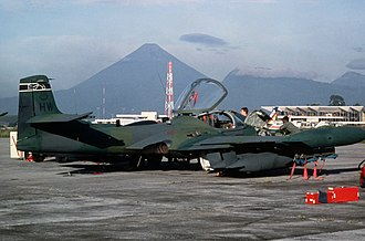 605th Special Operations Squadron - OA-37B of the 24th Wing in Guatemala