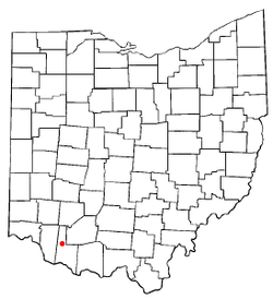Location of Mount Orab, Ohio