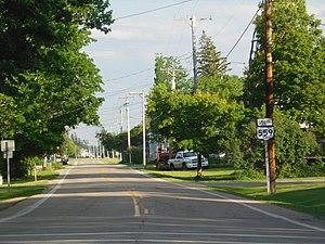 Ohio State Route 559 - SR 559 in North Lewisburg