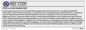 Social engineering (security) - OPSEC alert