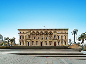 John James Clark - The old Treasury Building in Melbourne, now the City Museum