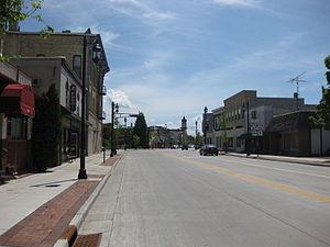 Oconomowoc, Wisconsin - Downtown Oconomowoc