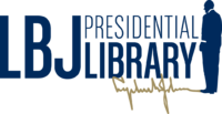 Official logo of the LBJ Presidential Library.png