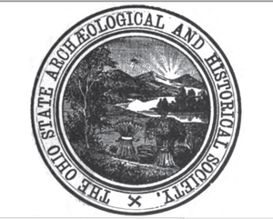 Ohio History Connection - 1898 seal of The Ohio State Archaeological and Historical Society