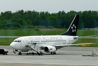 LOT Polish Airlines - LOT became the eleventh full member of Star Alliance in 2003.
