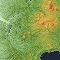 Okiura Caldera Relief Map, SRTM-1.jpg