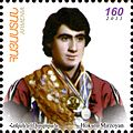Oksen Mirzoyan 2012 Armenia stamp.jpg