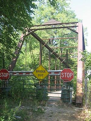 Embarras River Bridge - Southern portal of the bridge