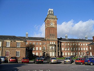 Culshaw and Sumners - West Derby Union workhouse (1863) later part of Walton Hospital