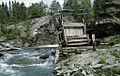 Old watermill at Kamajokk river, Jokkmokk, Lappland, Sweden (16625875406).jpg