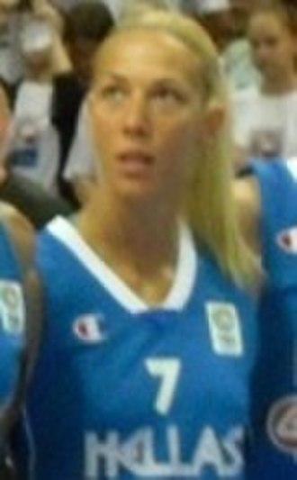 Olympiacos Women's Basketball - Image: Olga Chatzinikolaou