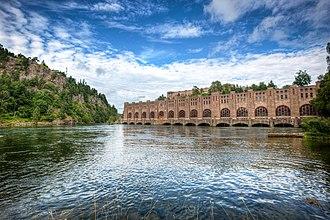 Olidan Hydroelectric Power Station - Image: Olidans kraftverk, Trollhättan