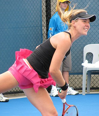 Olivia Rogowska - Olivia Rogowska at the 2010 Brisbane International
