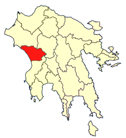 Location of Olympia Province