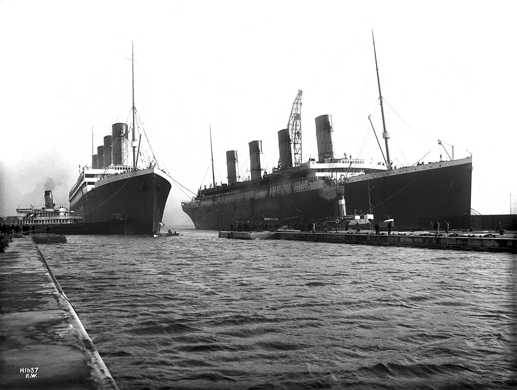 Olympic and Titanic