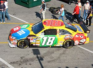 Kyle Busch - One of my least favorite driver p...