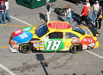 Kyle Busch - Kyle Busch's 2008 NASCAR Sprint Cup Series Car