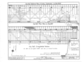 One Half Reflected Plan of Ceiling Construction, One Half Floor Plan, On Half Longitudinal Section - Smith's Covered Bridge, Beaver Valley, spanning Brandywine River HABS DEL,2-BEAVA,1- (sheet 2 of 3).png