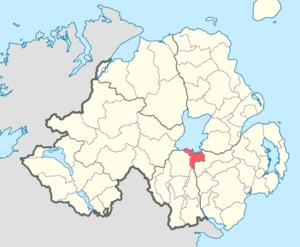 Oneilland East - Image: Oneilland East barony