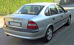 Opel Vectra B rear 20091015.jpg