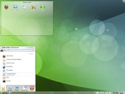 OpenSUSE 11.3 KDE Plasma desktop.png