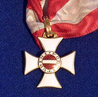 Order of Maria Theresa knight badge (Austria 1802) - Tallinn Museum of Orders.jpg