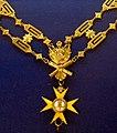 Order of the Golden Spur collar badge2 (Vatican) - Tallinn Museum of Orders.jpg