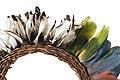 Ornamento per il capo, indios Yanomami, Museo Civico di Modena. Particolare.jpg