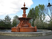 Ornate Fountain in Victoria Park - geograph.org.uk - 1279097