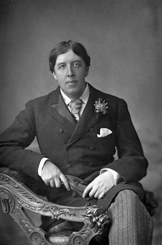The Importance of Being Earnest - Oscar Wilde in 1889