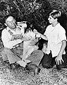 Otto Waldis Tommy Rettig Lassie 1956.JPG