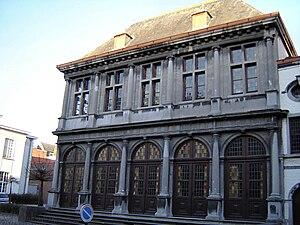 Bisschopskwartier in Oudenaarde. Oudenaarde, E...
