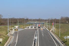 Image illustrative de l'article Autoroute A406 (France)