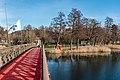 Pörtschach Promenadenbad Brücke zur Blumeninsel 23122017 2153.jpg