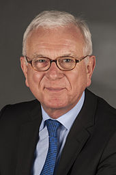 Hans-Gert Pöttering 2014. Bild: wikimedia.org/CC BY-SA 3.0/Foto-AG Gymnasium Melle