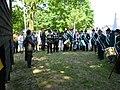 P1160481 Sint-Antonius Abtgilde bij de feestelijke opening van de gerestaureerde schietbaan Deurne 2014.JPG