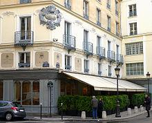 Cafe Drouant Restaurant Paris