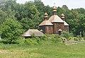 P6019746 Михайлівська церква з села Дорогинка, Київ, Пирогів.JPG