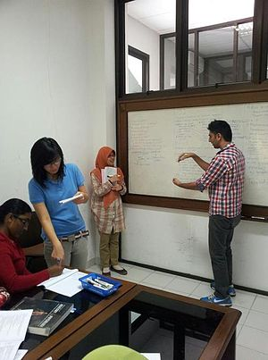 Problem-based learning - A PBL group at Gadjah Mada University