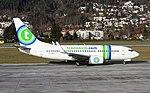 PH-XRZ Boeing 737-700 Transavia Innsbruck 11-12-15 (23512265430).jpg