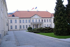 Ministry of Culture and National Heritage (Poland) - Seat of the Ministry - the main palace building