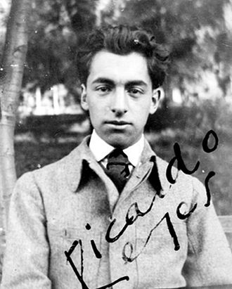 Pablo Neruda - Neruda as a young man