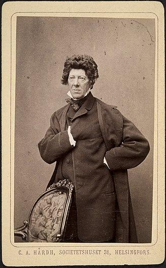 Akademiska Sångföreningen - Fredrik Pacius (1809–1891), conductor 1838–1846