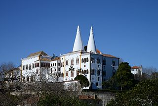 building in Sintra, Lisbon District, Portugal