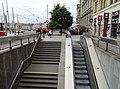 Palackého náměstí, výstup z metra.jpg