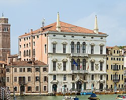Palazzo Balbi, headquarters of the region in Venice