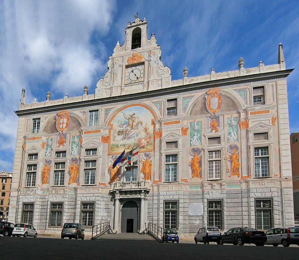 Palazzo San Georgio Genova W
